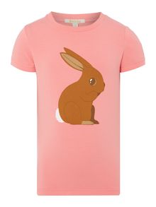 Rabbit printed tee