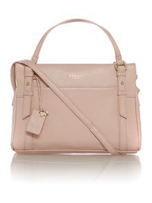 Chelsea light pink small crossbody tote bag