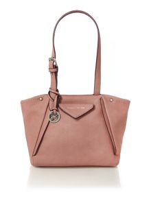 Paloma pink medium tote bag