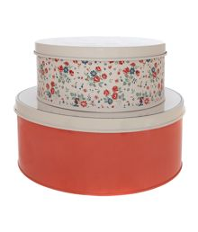 Born to Bake set of 2 cake tins