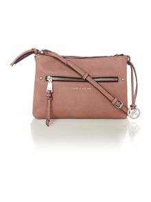 Leah pink cross body bag
