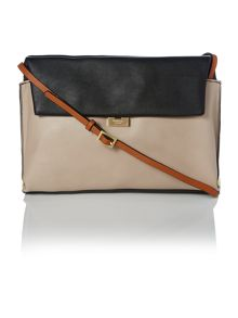 Teagan multi coloured satchel bag