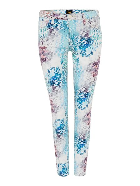 Lee Scarlett skinny fit jean in spring all over