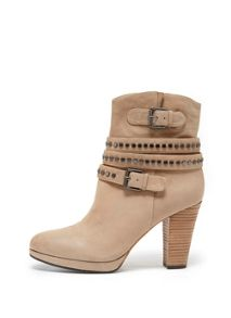 Sand Dixie Stud Boot