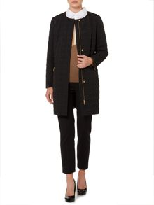 Linea Transitional edge to edge quilted coat