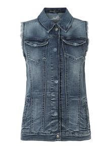 Blend She Wacca denim vest