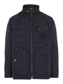 Lee funnel quilted jacket