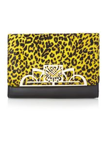 Ruby clutch handbag