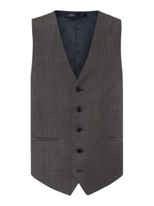 New & Lingwood Frockland Plain Tailored Fit Waistcoat