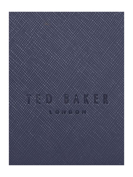 Ted Baker Phoebie navy small saffiano tote bag