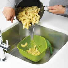 Square Colander Medium - Green
