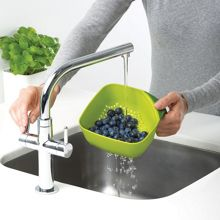 Square Colander Small - Green