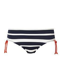 Stripe Bandeau Bottom