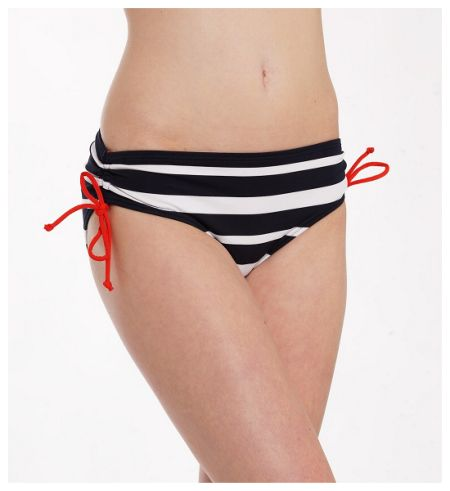 Michael Kors Stripe Bandeau Bottom