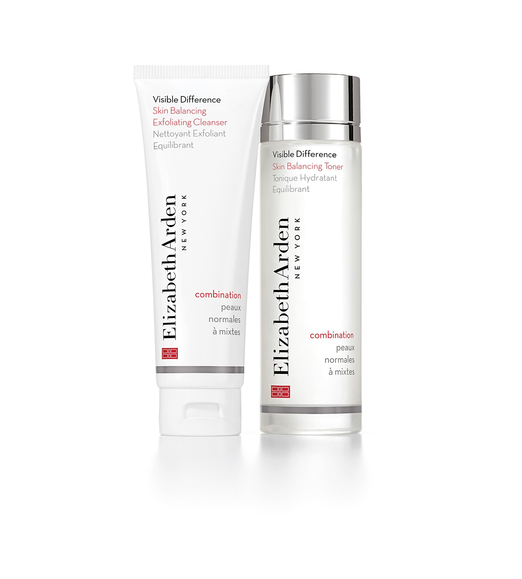 Elizabeth Arden Visible Difference Cleanser & Toner Duo Skin