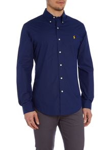 Polo Ralph Lauren Plain Slim Fit Long Sleeve Shirt
