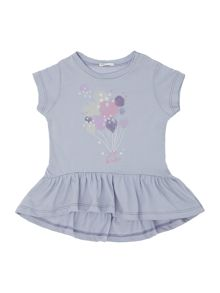 Newborn balloon print dress