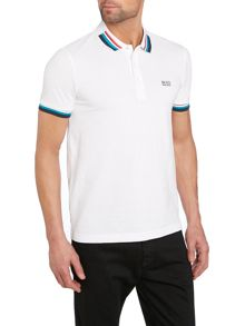 Tipped Polo Shirt Slim Fit