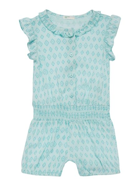 Benetton Newborn all over print jumpsuit