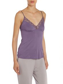 Delicate Lace Jersey Cami