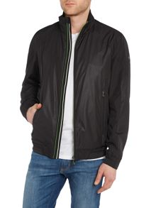 Casual Showerproof Full Zip Bomber Jacket