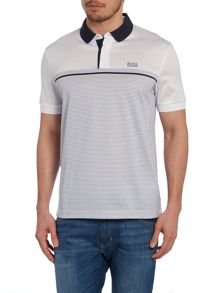 Regular Fit Polo Shirt With Contrast Collar And P