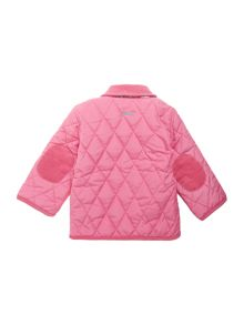 Baby girls quilted jacket