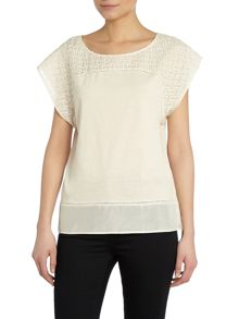 Hoss Intropia Cotton tee top