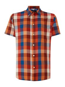 Check Classic Fit Short Sleeve Shirt