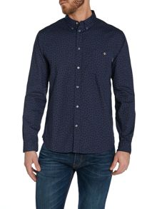 Paul Smith Jeans Pattern Long Sleeve Button Down Shirt