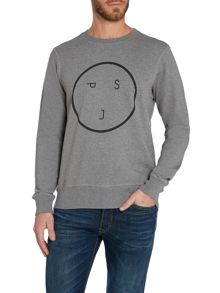 Graphic Crew Neck Jumper