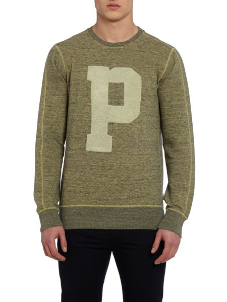 Paul Smith Jeans Graphic Crew Neck Pull Over