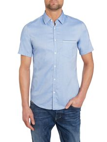 Short Sleeve Collar Shirt Classic Fit
