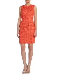 Hoss Intropia Sleeveless lace dress