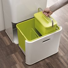 50L Intelligent Waste & Recycling Bin, Stone
