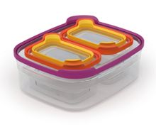 Nest Compact Storage Container Set, Multi-Colour