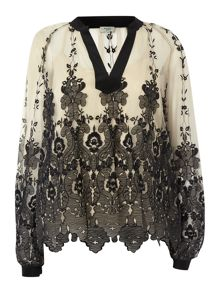 Hoss Intropia Lace blouse