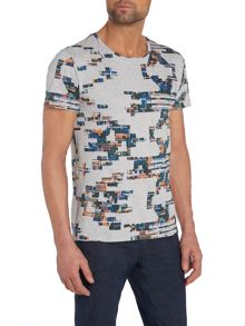Graphic Aztec Printed T Shirt