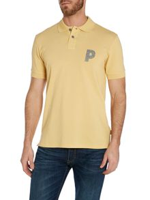 Paul Smith Jeans Logo Regular Fit Polo Shirt