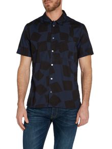 Pattern Classic Fit Short Sleeve Shirt