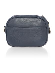 Claire navy small cross body bag