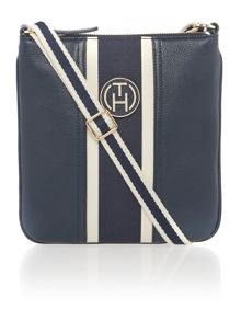Claire navy cross body bag