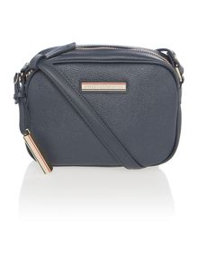 Irene navy mini cross body bag