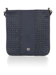 Elisabetta black cross body bag