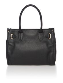 Natalia black medium tote bag