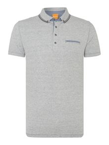 Jersey Marl Polo Shirt