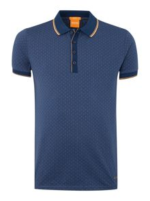 All Over Printed Polo Shirt