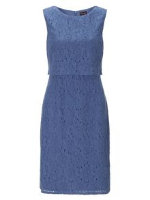 Darcey double layer lace dress