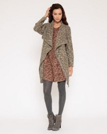 Tweed Waterfall Jacket