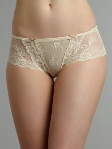 Heidi Klum Intimates Amelie retro cream culotte brief